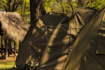 tourist camp on tour of Big Five Camping Safari in Tanzania African wildlife tour Serengeti national park