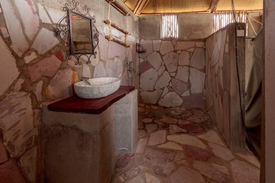 Rest Room at Nature's Lodges (Lake Mburo National Park)