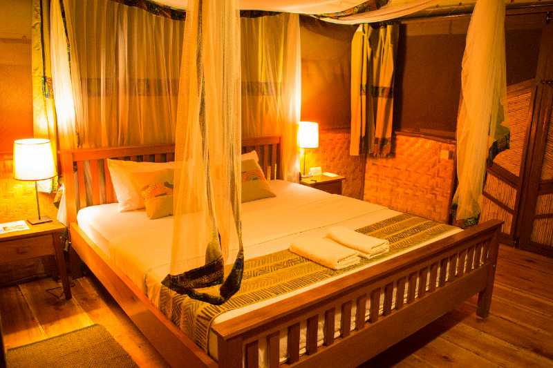 Double Bed at Nature Lodges