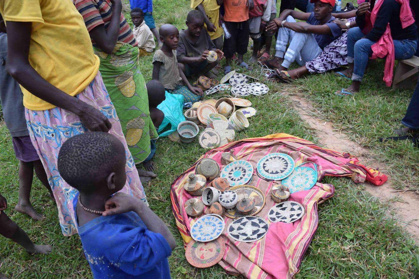 Crafts made by Batwa Community